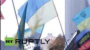 Украйна: Железопътни работници протестират срещу евентуална приватизация