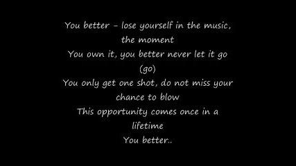 Eminem_ Lose Yourself (lyrics)
