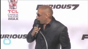 Michelle Rodriguez, Vin Diesel Join 'Furious 7′ Family for World Premiere