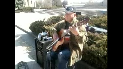 човекът с китара :)