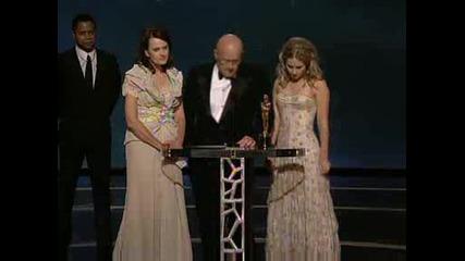 Посмъртен Оскар За Хийт Леджър За Най - Добра Поддържаща Мъжка Роля!!!