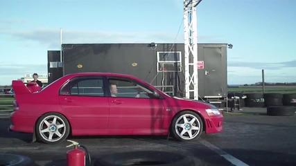 Audi C5 Rs6 Avant Vs Mitsubishi Lancer Evo in Hd