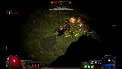 Path of exile gameplay with d3s7ruc7i0n and blayken