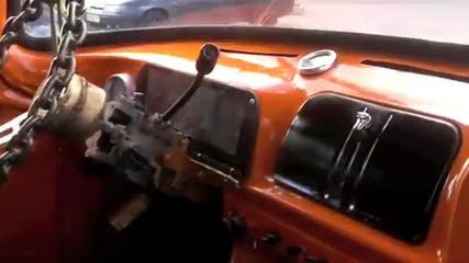 Мускулеста кола от Русия е просто
