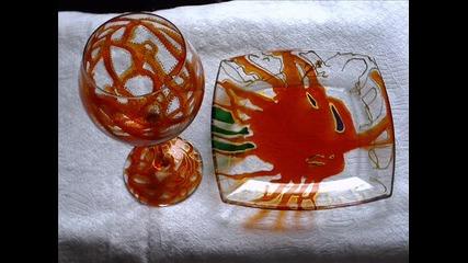 Рисуване върху стъкло