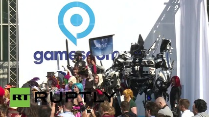 Germany: Biggest video game event in the world opens in Cologne