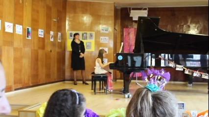 Лекси Александрия концерт пиано Бавен валс Шуберт Schubert