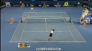 Nadal - Verdasco, Australian Open 2009 Semi-final Highlights part 2/2