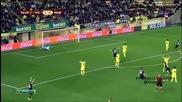 Виляреал 2 - 2 Борусия ( мьонхенгладбах ) ( лига европа ) ( 27/11/2014 )