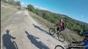 Лятна велоразходка от с. СТАРОСЕЛ до с.Каравелово MTB Karlovo