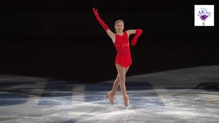 Юлия Липницкая. Фигурно пързаляне - гала вечер. Сочи 2014