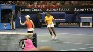 Звездите на тениса събраха пари за пострадалите в Хаити