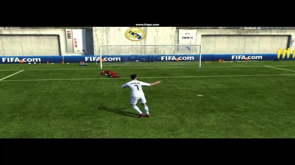 Fifa 11 Rabona Fake + Rabona Goal