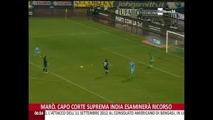 """""""Наполи"""" обърна """"Аталанта"""" за Купата на Италия – 3:1"""