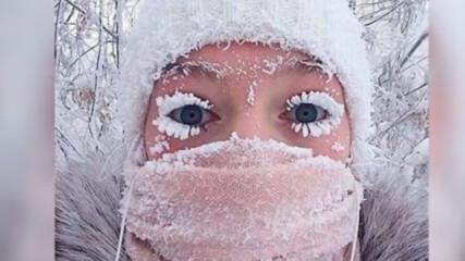 Как ЖИВЕЯТ Хората в НАЙ СТУДЕНАТА точка на Земята Якутия 71°C!