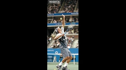 Andy Roddick Serve