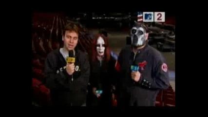 Slipknot - Interview (mtv)