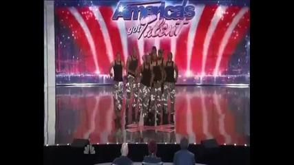 Америка търси талант - много добър танц