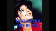 A Michael Jackson Tribute - Hero - Mariah Carey
