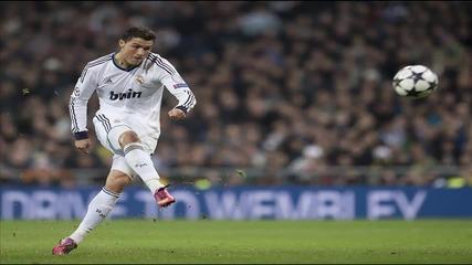 Роналдо избухва с Free Kick от 42 ярда   Fifa 14