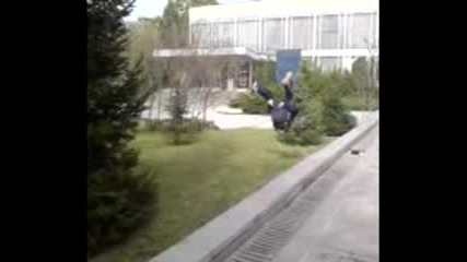 Street Jumpers Crew - Uli Side Flip