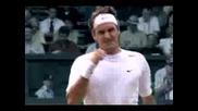 Roger Federer At Gillette Commercial 2