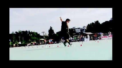 Freestyle Slalom Inline Skating 2