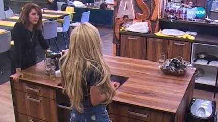 Ева и Ваня анализират конфликта между Нора и Божана - VIP Brother 2018
