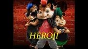 Indira Radic i Chipmunks - Heroji - (Privat Video)