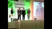 Министър Цветков връчи чек на кмета на Несебър