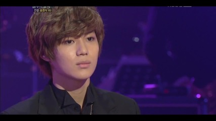 120128 Taemin ( Shinee ) - At Least Once - Immortal Song 2