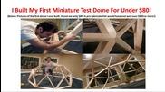 Eden Dome Revolution Construction Geodesic