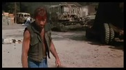 Chuck Norris Vs David Carradine Climactic Final Fight - Lone Wolf Mcquade