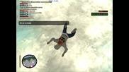 Gta San Andreas Multiplayer parachute jumping