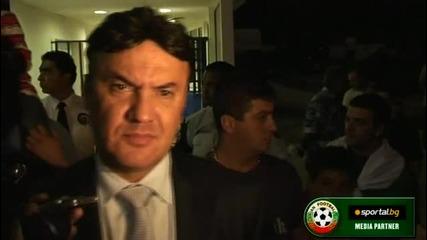 Боби Михайлов след мача Кипър 4:1 България