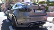 Hamann Bmw X6 M Tycoon Evo реве в Монако