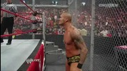 Wwe Raw - John Cena vs Randy Orton - Gauntlet Match Hell in a Cell.