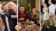 На крилете на любовта: Ивайло Захариев и годеницата му и тяхната рецепта за щастие