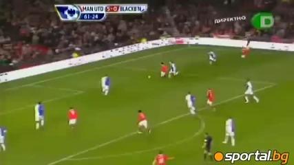 Manchester United vs Blackburn 7 - 1 Goals 27.11.2010