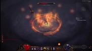 Level 42 Demon Hunter Defeats Diablo on Normal without Moving