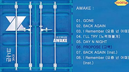 160602 Knk () - Awake [1st Mini Album][full Album]released June 2, 2016