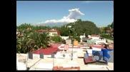 Вулкан в Мексико се събуди и изхвърли пепел и газ в небето