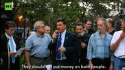 New York's Greek Community Rallies for 'No' Vote in Historic Referendum