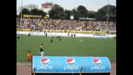 Ботев - Нефтохимик (минути преди мача и хореография)
