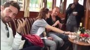David Bisbal En Amsterdam Escuchando Quien Me Iba A Decir