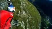 Wingsuit jumps .. 100% adrenaline
