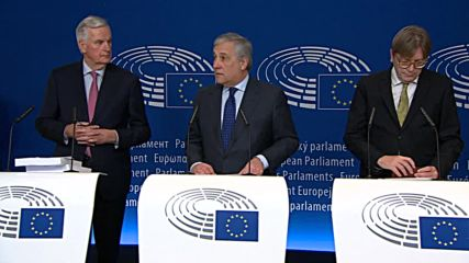 France: Europe is 'satisfied' with Brexit agreement - Tajani