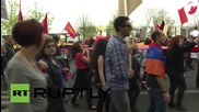 """Germany: Thousands march for recognition of Armenian """"genocide"""""""
