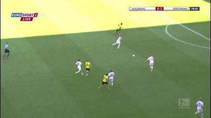 Аусбург 0-4 Дортмунд (10.08.2013)