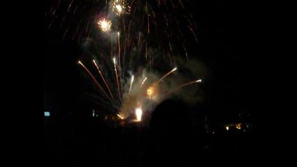 Заря за празника на велико търново 2011